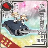 16inch Triple Gun Mount Mk.7 + GFCS