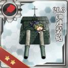20.3cm Twin Gun Mount
