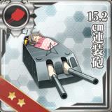 15.2cm Twin Gun Mount