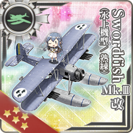 Equipment Card Swordfish Mk.III Kai (Seaplane Model Skilled).png