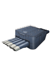 Equipment Item 61cm Quintuple (Oxygen) Torpedo Mount.png