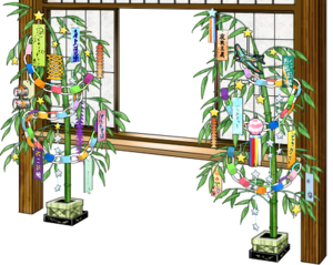 Window with Tanabata decorations.png