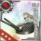 35.6cm Twin Gun Mount (Dazzle Camouflage)