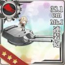 38.1cm Mk.I Twin Gun Mount