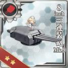 8inch Triple Gun Mount Mk.9