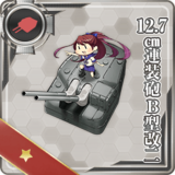 12.7cm Twin Gun Mount Model B Kai 2