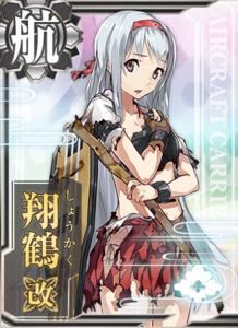 Shoukaku Kai Damaged Card