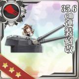 35.6cm Twin Gun Mount Kai