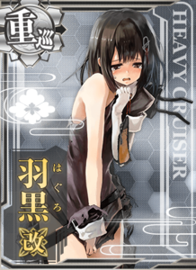 Haguro Kai Damaged Card