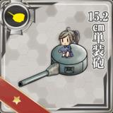 15.2cm Single Gun Mount