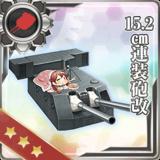 15.2cm Twin Gun Mount Kai