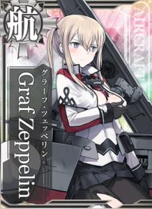 Graf Zeppelin Damaged Card