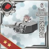 6inch Mk.XXIII Triple Gun Mount