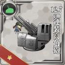 12.7cm Twin High-angle Gun Mount
