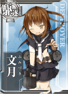 Fumizuki Damaged Card