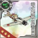 Type 0 Fighter Model 21 (Skilled)