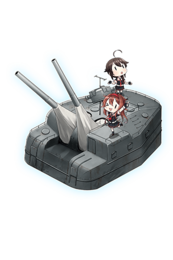 Equipment Full 12.7cm Twin Gun Mount Model B Kai 4 (Wartime Modification) + Anti-Aircraft Fire Director.png