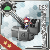 12.7cm Twin High-angle Gun Mount (Late Model)