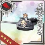 16inch Mk.VIII Twin Gun Mount Kai