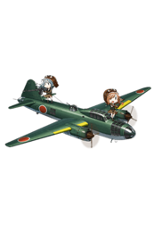 Equipment Full Type 1 Land-based Attack Aircraft Model 34.png