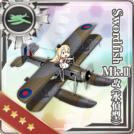 Swordfish Mk.II Kai (Reconnaissance Seaplane Model)