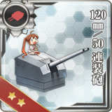 120mm/50 Twin Gun Mount