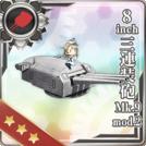 8inch Triple Gun Mount Mk.9 mod.2