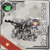 Bi Type 40mm Twin Autocannon Mount