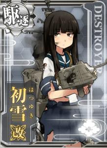 Hatsuyuki Kai Damaged Card