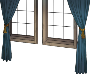 Window with blue curtain.png