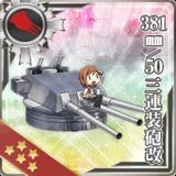 381mm/50 Triple Gun Mount Kai