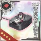 12.7cm Twin Gun Mount Model D Kai 3