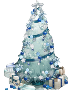 White and blue Christmas tree.png