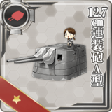 12.7cm Twin Gun Mount Model A