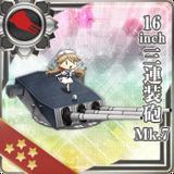 16inch Triple Gun Mount Mk.7