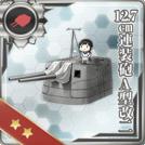 12.7cm Twin Gun Mount Model A Kai 2