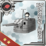 12.7cm Twin Gun Mount Model A Kai 2