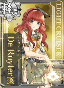De Ruyter Kai Damaged Card